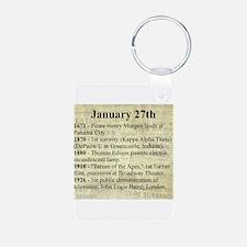 January 27th Keychains