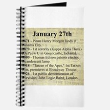 January 27th Journal