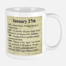 January 27th Mugs