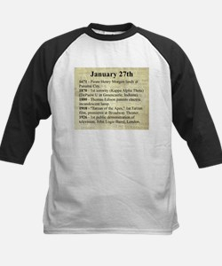 January 27th Baseball Jersey