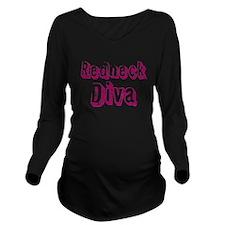 Redneck Diva Long Sleeve Maternity T-Shirt