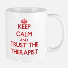 Keep Calm and Trust the Therapist Mugs