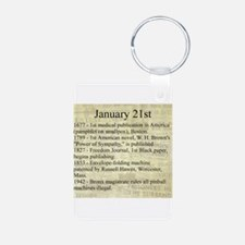 January 21st Keychains
