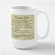 January 21st Mugs