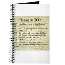 January 20th Journal