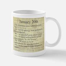 January 20th Mugs