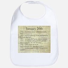 January 20th Bib