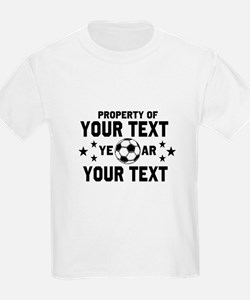 Personalized Property of Soccer T-Shirt