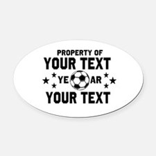 Custom Soccer Mom Car Magnets Personalized Custom Soccer Mom - Custom soccer ball car magnets