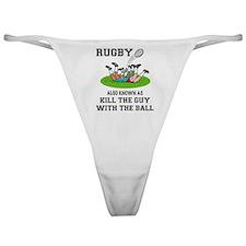 Rugby Kills Classic Thong