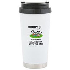 Rugby Kills Travel Mug