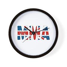 MMA UK Wall Clock