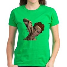 Tattoo U Irish Eyes Women'S Women'S Dark T-Shirt
