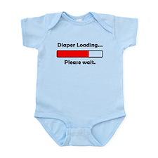 Diaper Loading Please Wait Body Suit
