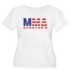 MMA USA Flag T-Shirt