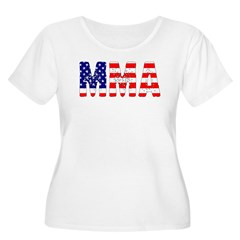 MMA USA Flag T-Shirt