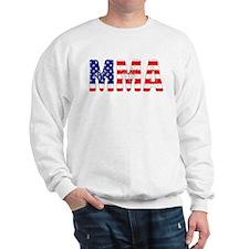 MMA USA Flag Sweatshirt