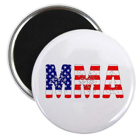 MMA USA Flag Magnet