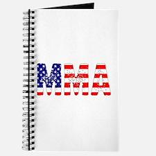 MMA USA Flag Journal