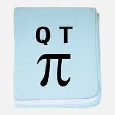 QT Pi Cutie Pie baby blanket