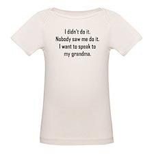I Want To Speak To My Grandma T-Shirt
