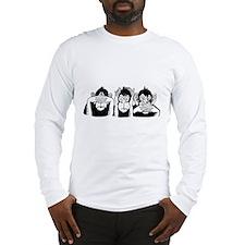Chimp Feet Long Sleeve T-Shirt