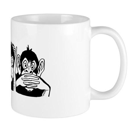 Chimp Feet Mug