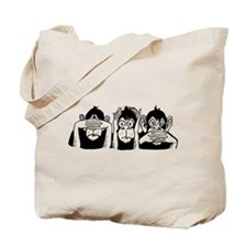 Chimp Feet Tote Bag