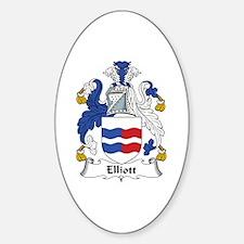 Elliott Oval Decal