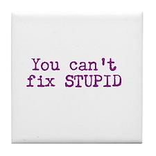 Stupid Tile Coaster