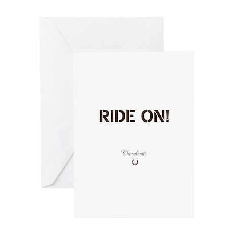Horse Theme Design #40050 Greeting Card