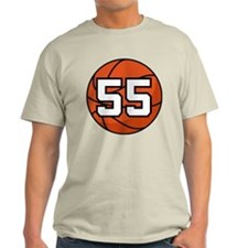 Basketball Player Number 55 T-Shirt