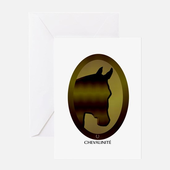 Horse Theme Design #40090 Greeting Card