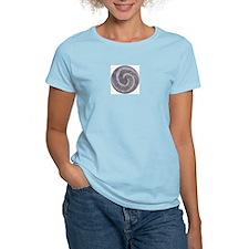 Stone Koru / Spiral Women's Pink T-Shirt