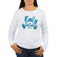 idive ok blue glass.png Long Sleeve T-Shirt