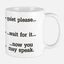 Quiet Please Mugs
