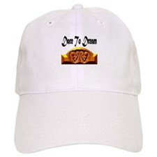 Dare to Dream White Baseball Cap