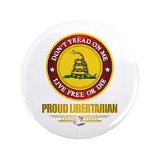 """(DTOM) Libertarian 3.5"""" Button"""