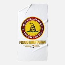 (DTOM) Libertarian Beach Towel