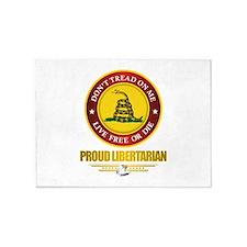 (DTOM) Libertarian 5'x7'Area Rug