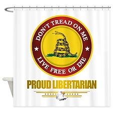 (DTOM) Libertarian Shower Curtain