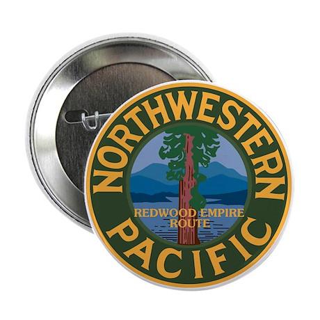 NorthWestern Pacific Railroad Button
