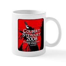 Colbert Stewart 2008 Mug