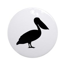 Pelican bird Ornament (Round)