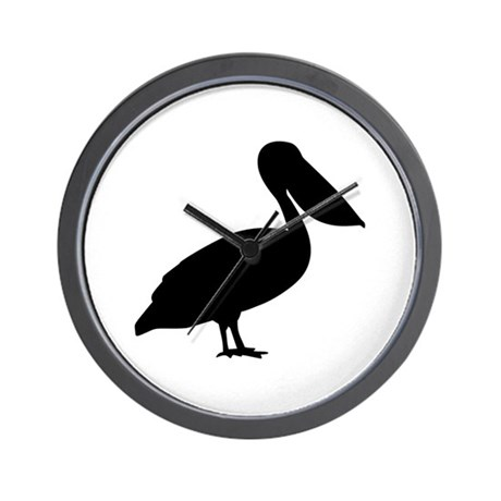 Pelican bird Wall Clock