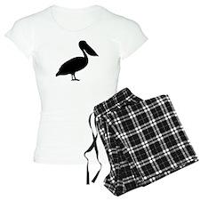 Pelican bird pajamas
