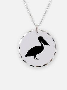 Pelican bird Necklace
