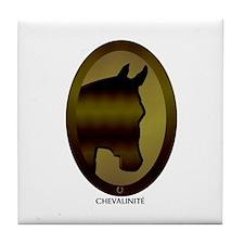 Horse Theme Design #40090 Tile Coaster