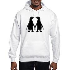 Penguin couple love Jumper Hoody