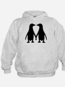 Penguin couple love Hoodie